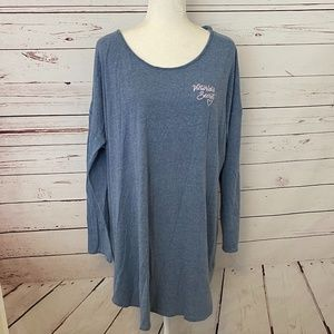 LIKE NEW VICTORIA SECRET NIGHT SHIRT